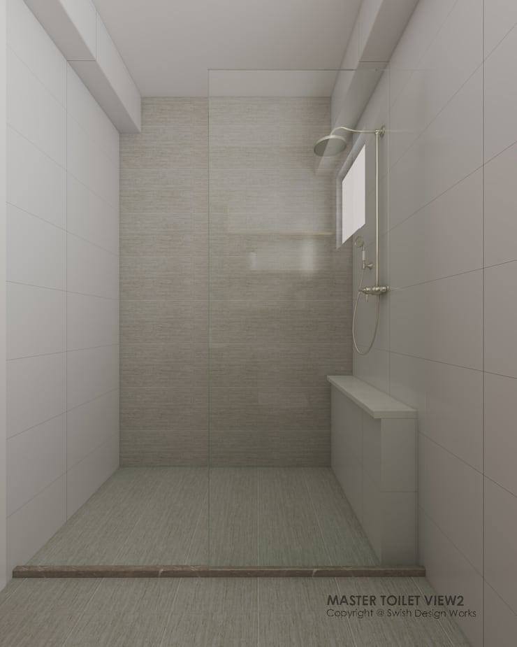 Bathroom:  Bathroom by Swish Design Works,