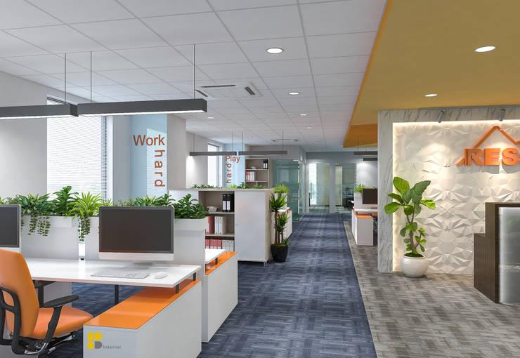 Nội thất văn phòng:   by Hb interior,