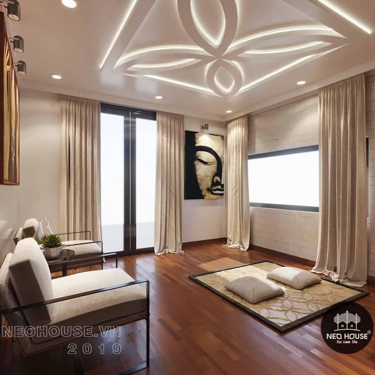 Thiết kế thi công nội thất biệt thự phố 3 tầng tại quận 12:  Artwork by NEOHouse,