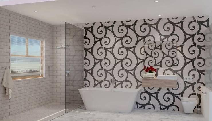 Bathroom by Deborah Garth Interior Design International (Pty)Ltd, Modern