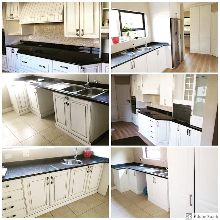 House Moholi - Kyalami Estate:   by Kitchen Respray and More,