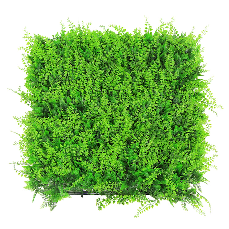 Uland Artificial Leaves Fence with Fern A038:  Interior landscaping by Ulandhedge,