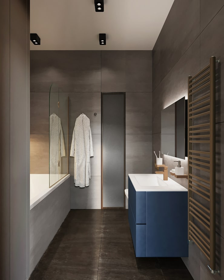 Country style bathroom by «Студия 3.14» Country