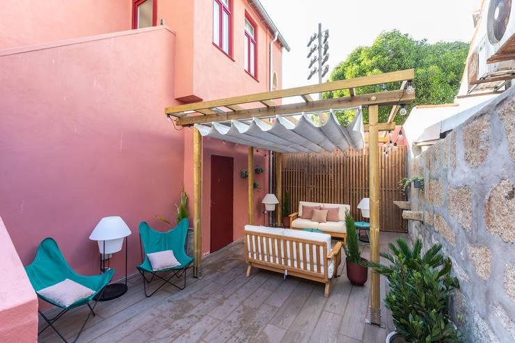 Patios & Decks by SHI Studio, Sheila Moura Azevedo Interior Design, Modern
