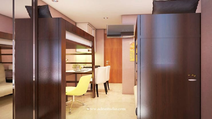 Small bedroom by ADEA Studio, Modern Wood Wood effect