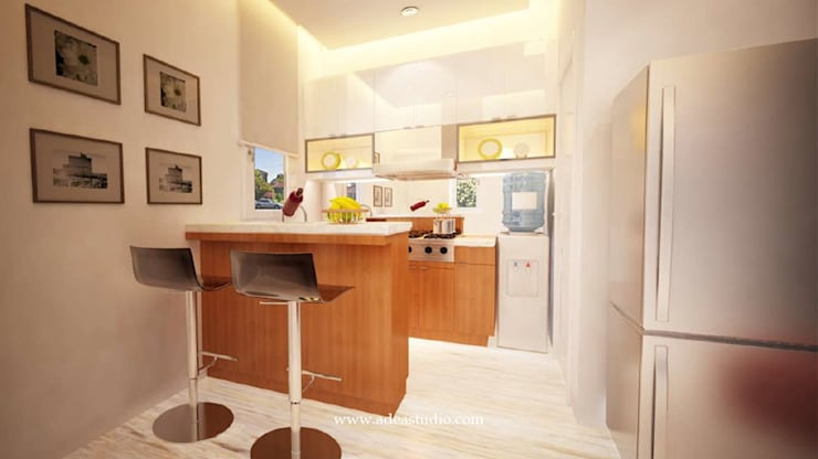 Private Residence: Dapur built in oleh ADEA Studio,