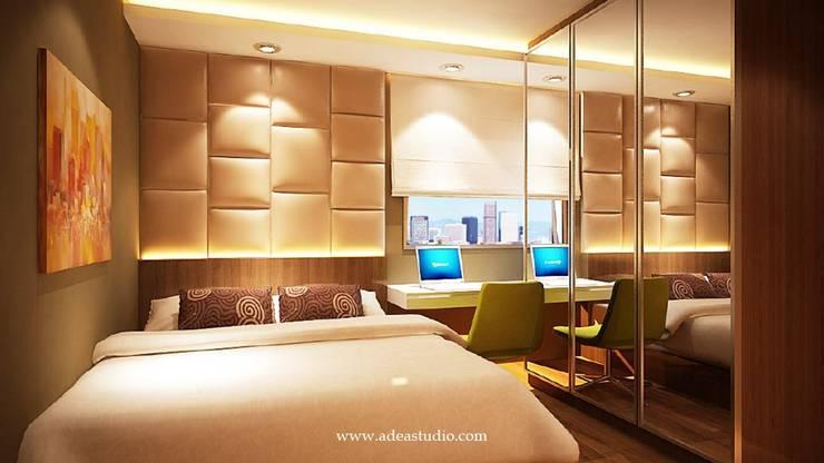 Master Bed Room: Kamar Tidur oleh ADEA Studio,