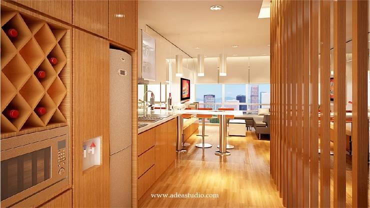 Pantry & Kitchen Cabinet: Dapur built in oleh ADEA Studio,