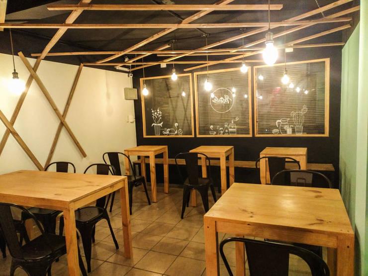 Remodelación local comercial – Cafe Dí María:  de estilo  por Umbral Arquitectura,