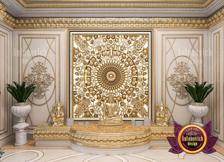 Stunning Home Shrines Made for Luxury and Comfort:   by Luxury Antonovich Design,