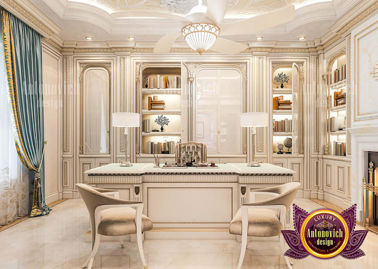 Luxury Pieces and the Proper Usage of Materials:   by Luxury Antonovich Design,