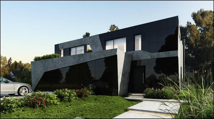 Future House Casas estilo moderno: ideas, arquitectura e imágenes de Maximiliano Lago Arquitectura - Estudio Azteca Moderno