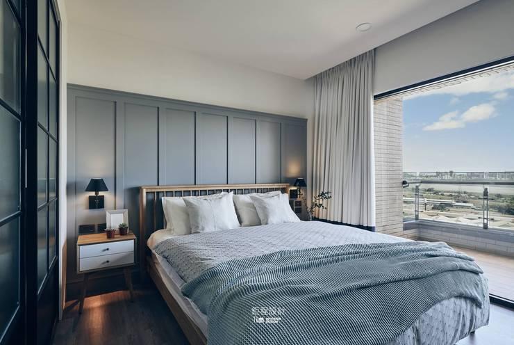 Taipei-L宅:  臥室 by 鉅程空間設計, 現代風