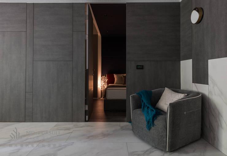 燭光  Candlelight:  臥室 by 肯星室內設計, 現代風