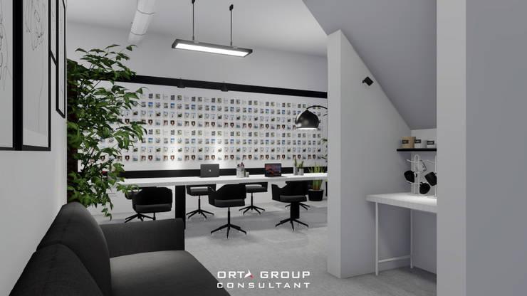 back view : Ruang Kerja oleh ORTA GROUP,