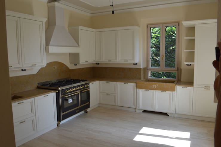 Cucine classiche bianche- Cucine classiche legno laccato ...