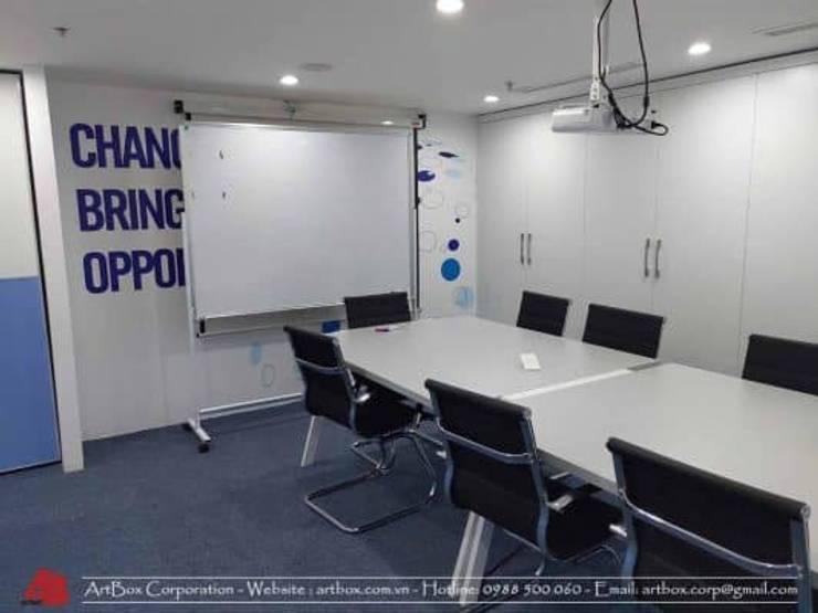 Thiết kế nội thất văn phòng V-Space:  Phòng học/Văn phòng by Thiết Kế Nội Thất - ARTBOX,