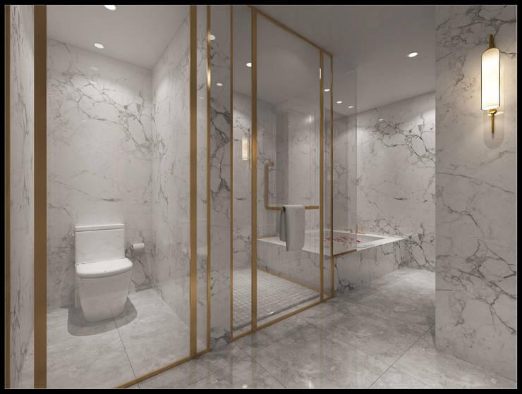 台北張小姐:  浴室 by 立騰空間設計,