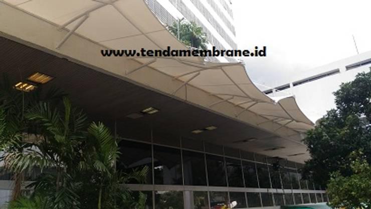 Kanopi gedung SEKJEN DPR RI, Senayan: Gedung perkantoran oleh Fortuna Jaya Kreasi,