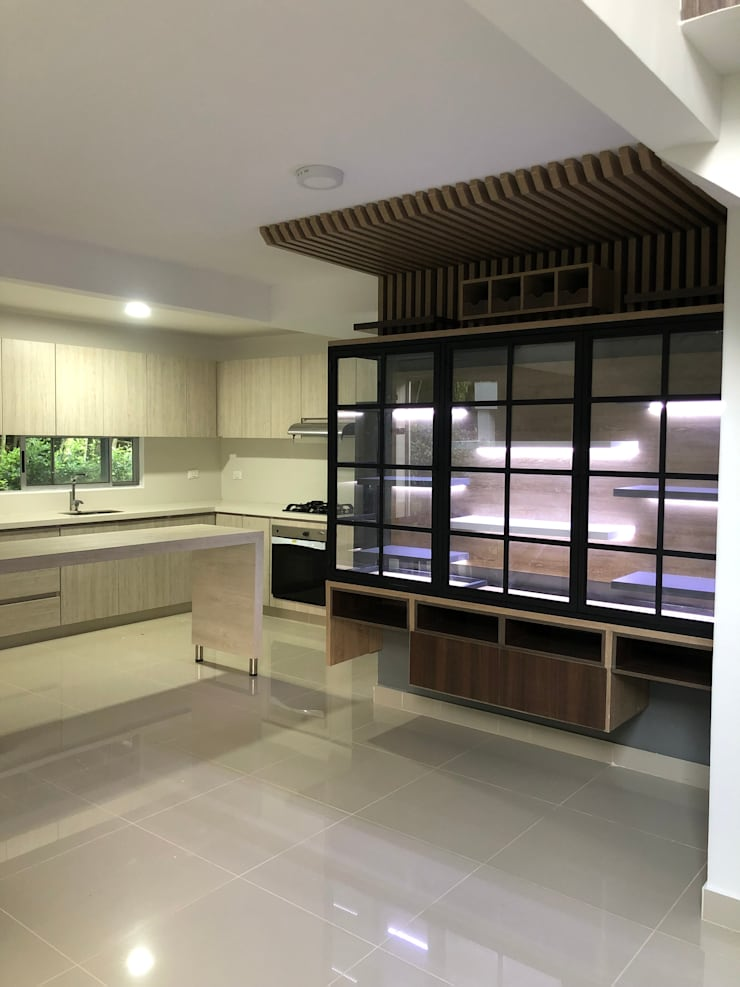 Cocinas equipadas de estilo  por SEQUOIA. Projects & Designs, Moderno