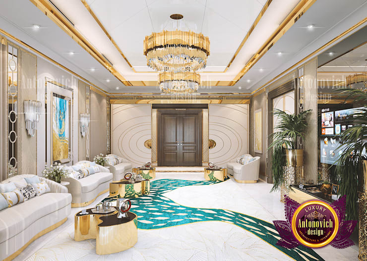 The Impact of Colors in Interior Design:   by Luxury Antonovich Design,