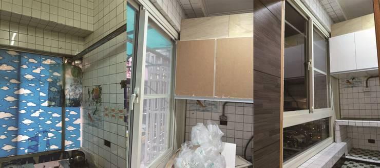 廚房收納櫃:   by 業傑室內設計,