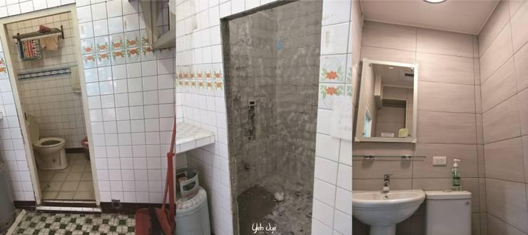 衛浴:   by 業傑室內設計,