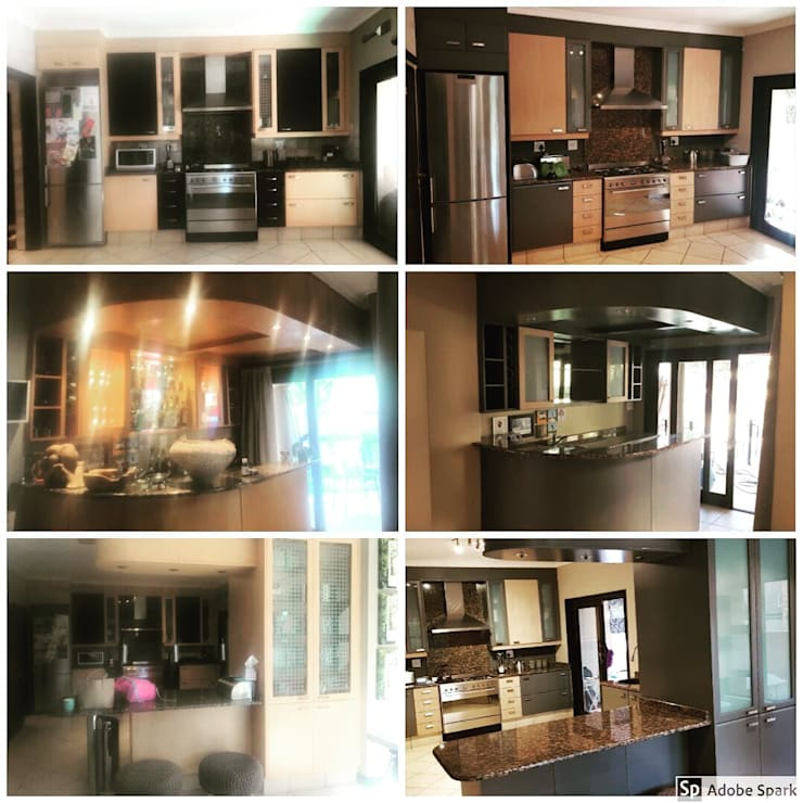House Kotze - Bedfordview:   by Kitchen Respray and More,