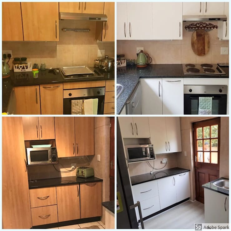House Potgieter - Douglasdale:   by Kitchen Respray and More,