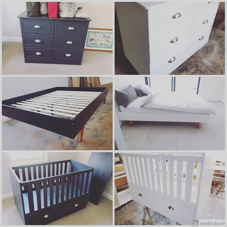 Furniture Respray:   by Kitchen Respray and More,