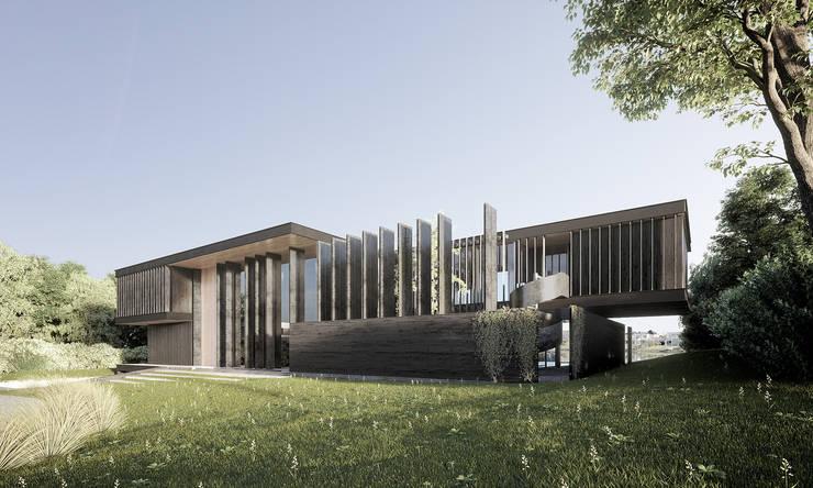 Häuser von T + T arquitectos, Minimalistisch
