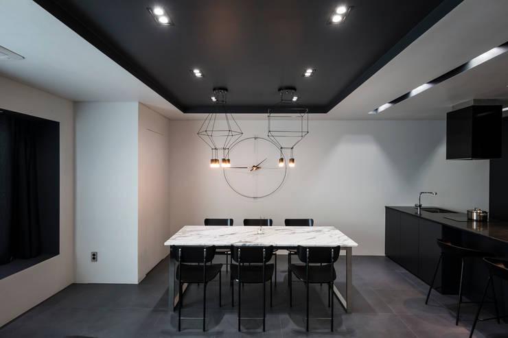 ㅤㅤ: 므나 디자인 스튜디오의  다이닝 룸,모던