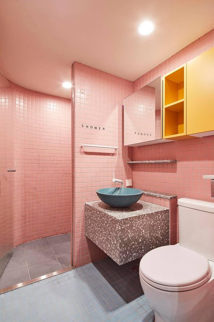 ㅤㅤ: 므나 디자인 스튜디오의  욕실,미니멀