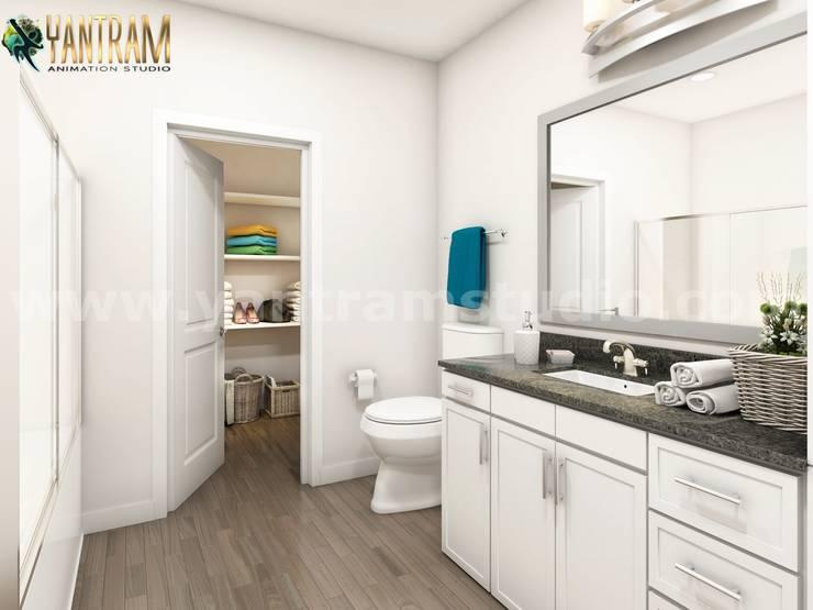 Baños de estilo  por Yantram Architectural Design Studio, Clásico