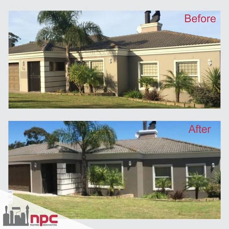 Residential painting by NPC Cape Residential|Commercial|Roofing|Waterproofing|Renovators:   by NPC Cape Painters|Renovators|Roofing|Waterproofing,