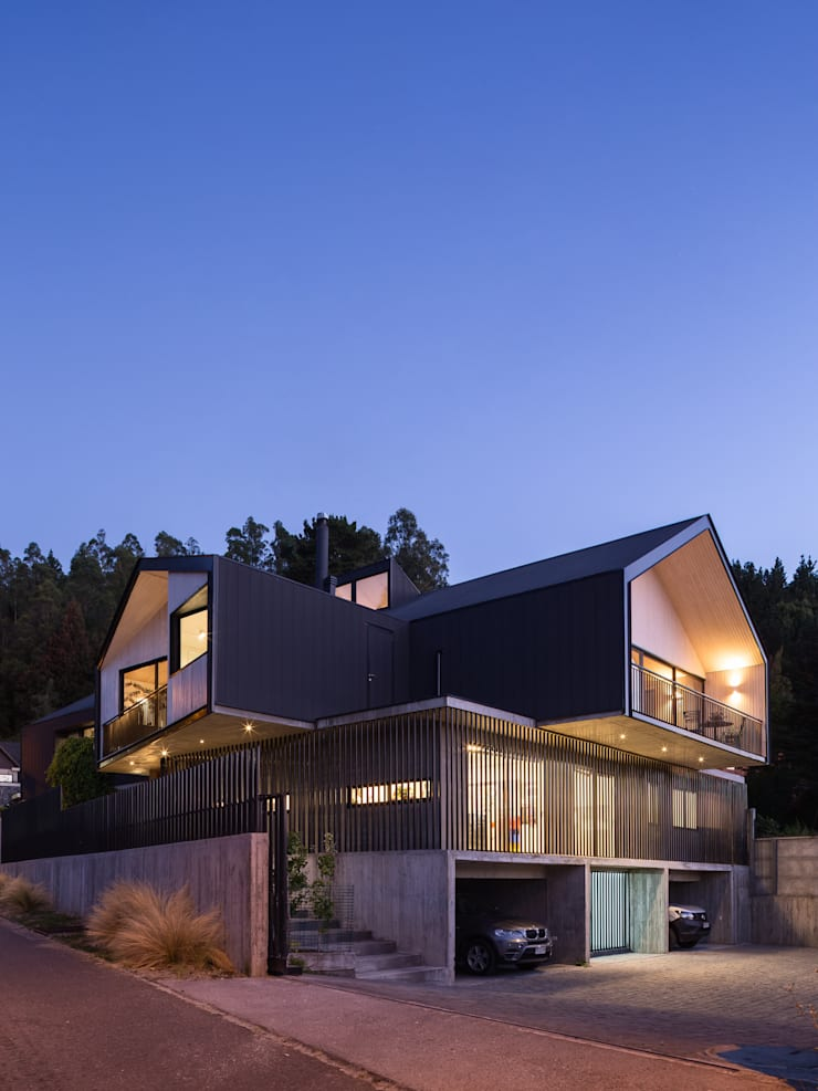 Houses by Dx Arquitectos, Rustic