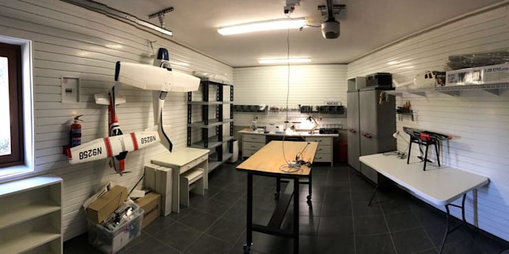 Studio in stile industriale di MyGarage Industrial