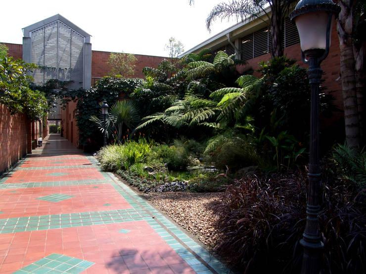 JARDIN FABRICA MOLDES MEDELLIN: Estanques de jardín de estilo  por Paisajismo trópico sas,