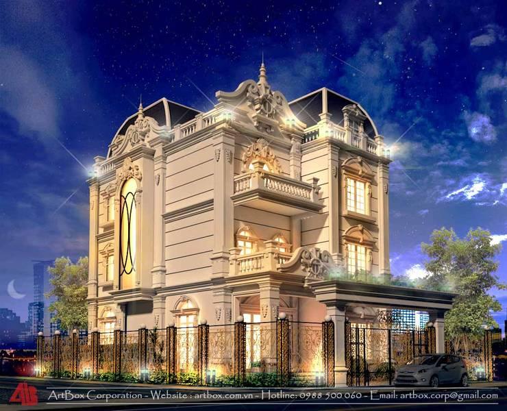 Thiết kế kiến trúc và nội thất biệt thự Mr. Sơn:  Artwork by Thiết Kế Nội Thất - ARTBOX,