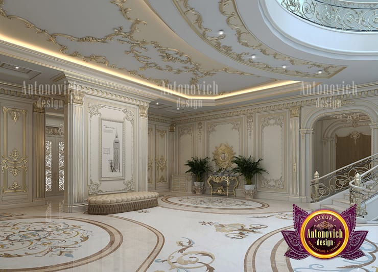 Magnificent Hall and its Importance:   by Luxury Antonovich Design,