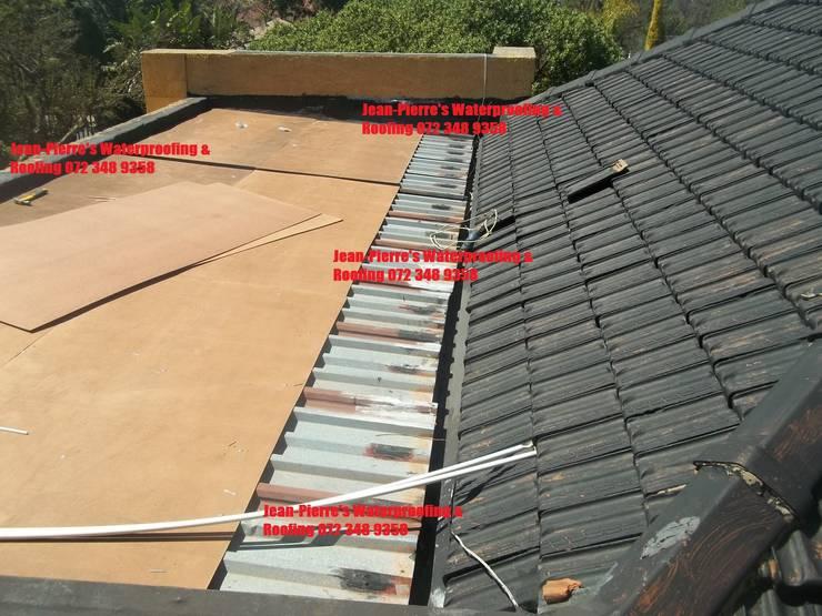 Board and torch on waterproofing multidex:   by Jean-Pierre's Waterproofing,