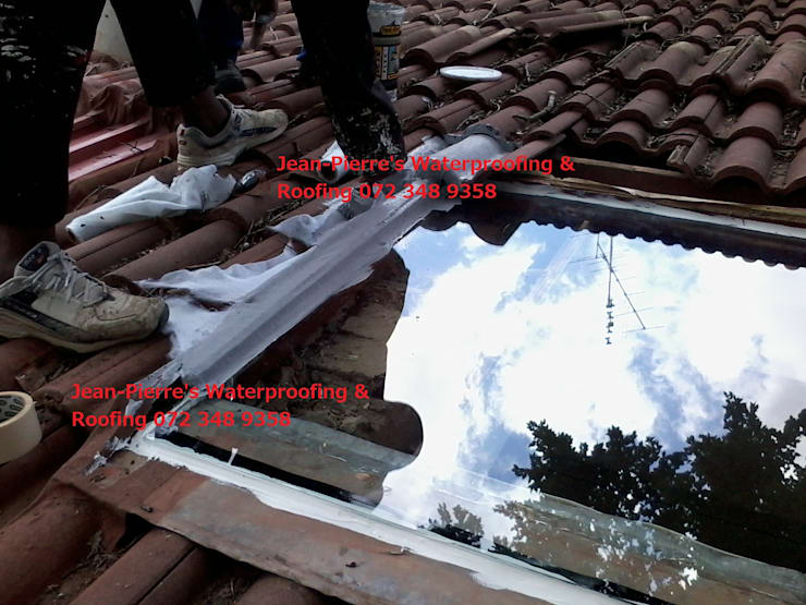 skylight repairs and replacements:   by Jean-Pierre's Waterproofing,