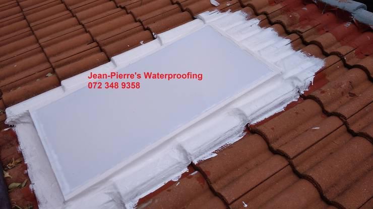 skylight repairs and waterproofing:   by Jean-Pierre's Waterproofing,
