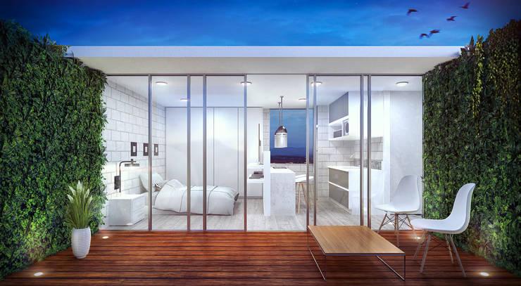 Altos del palmar - Casa campestre  (Interiores): Salones de conferencias de estilo  por Kiorama S.A.S,