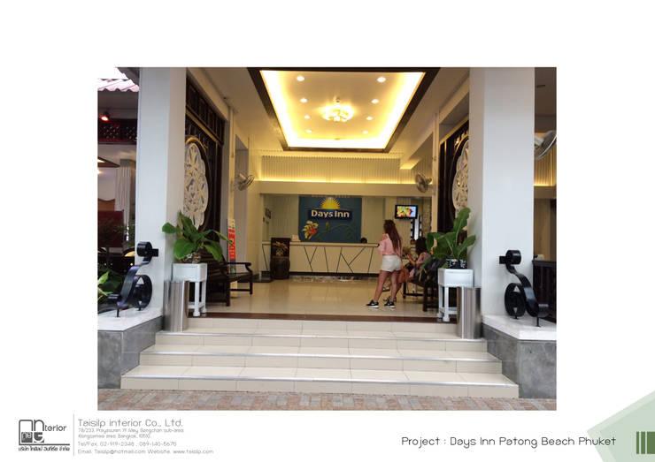 โครงการออกแบบ โรงแรม DAY INN ภูเก็ต:  ตกแต่งภายใน โดย ไทศิลป์ อินทีเรีย taisilp interior,
