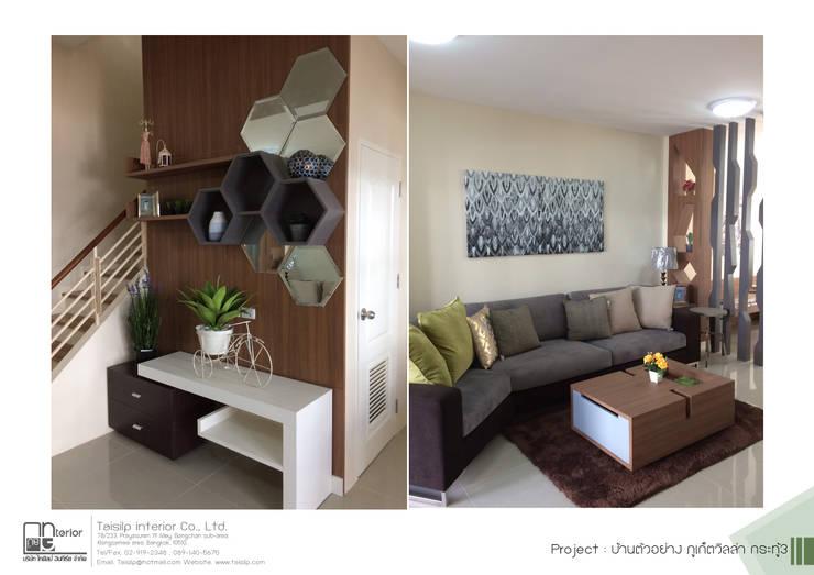 โครงการรับเหมาออกแบบตกแต่ง บ้านตัวอย่าง ภูเก็ตวิลล่า กระทู้ 3: ผสมผสาน  โดย ไทศิลป์ อินทีเรีย taisilp interior, ผสมผสาน