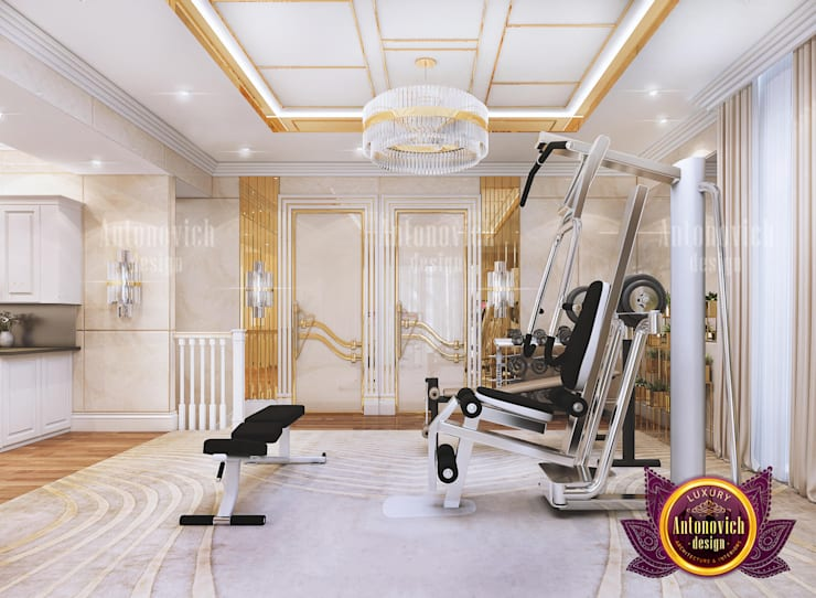 "Get Motivated by This Luxury Home Gym: {:asian=>""asian"", :classic=>""classic"", :colonial=>""colonial"", :country=>""country"", :eclectic=>""eclectic"", :industrial=>""industrial"", :mediterranean=>""mediterranean"", :minimalist=>""minimalist"", :modern=>""modern"", :rustic=>""rustic"", :scandinavian=>""scandinavian"", :tropical=>""tropical""}  by Luxury Antonovich Design,"