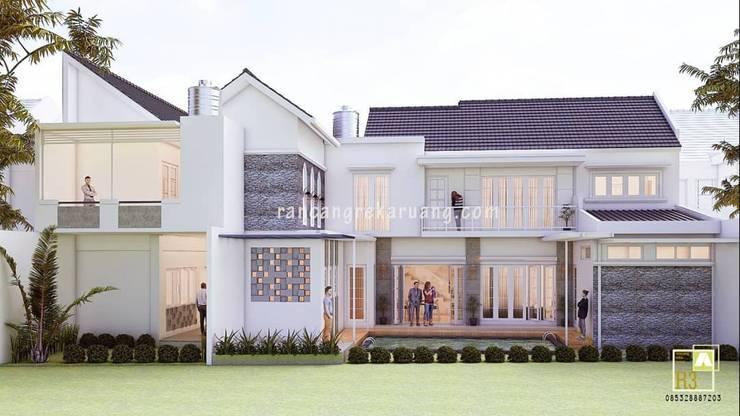Mr Syarman House: Rumah tinggal  oleh Rancang Reka Ruang, Modern