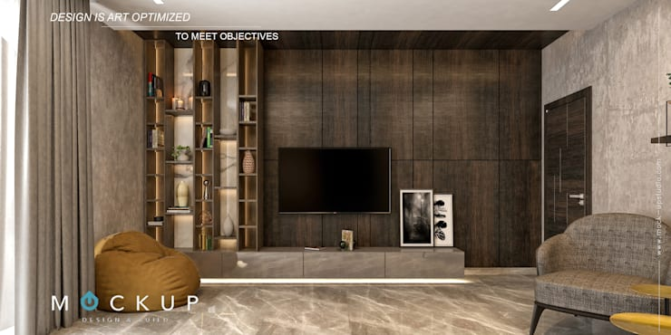 Salones de estilo  de  Mockup studio, Moderno
