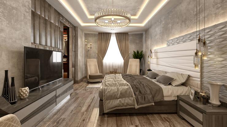 Dormitorios de estilo  de  Mockup studio, Moderno